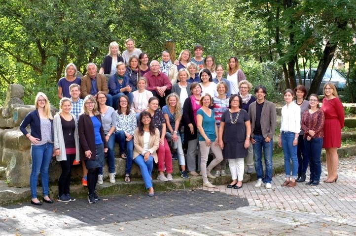 Lehrerkollegium der Martin-Grundschule Forchheim im Schuljahr 2017/18